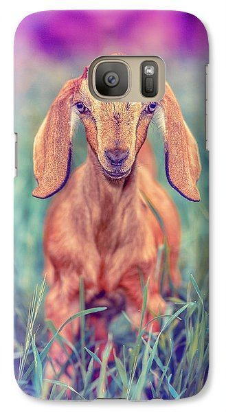 Galaxy Case featuring the photograph Hazel by TC Morgan