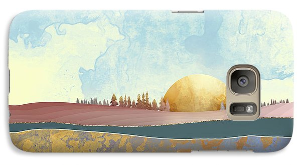 Landscape Galaxy S7 Case - Hazy Afternoon by Katherine Smit