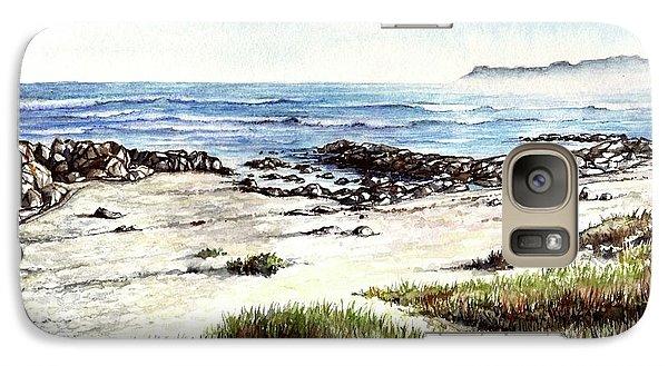 Galaxy Case featuring the painting Hazy Coastline by Heidi Kriel