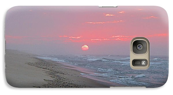 Galaxy Case featuring the photograph Hazy Sunrise by  Newwwman