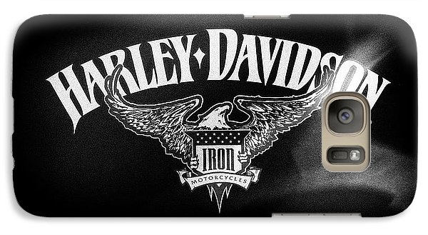 Galaxy Case featuring the photograph Hd Iron Motorcycles by Tim Gainey