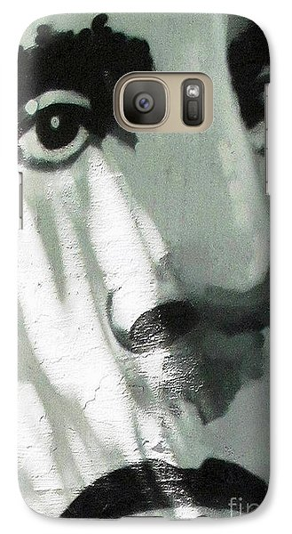 Galaxy Case featuring the photograph He Is Not Amused by Ethna Gillespie