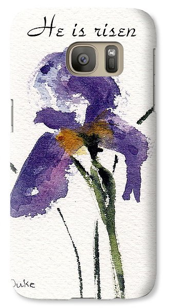 Galaxy Case featuring the painting He Is Risen by Anne Duke