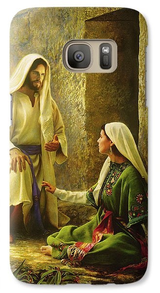 Lily Galaxy S7 Case - He Is Risen by Greg Olsen