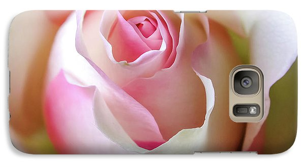 Galaxy Case featuring the photograph He Loves Me Still by Karen Wiles