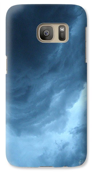 Galaxy Case featuring the photograph Head For Cover by Angie Rea