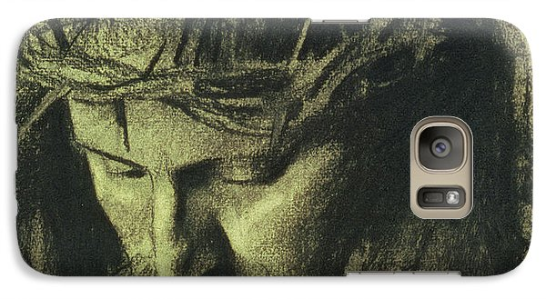 Religion Galaxy S7 Case - Head Of Christ by Franz Von Stuck