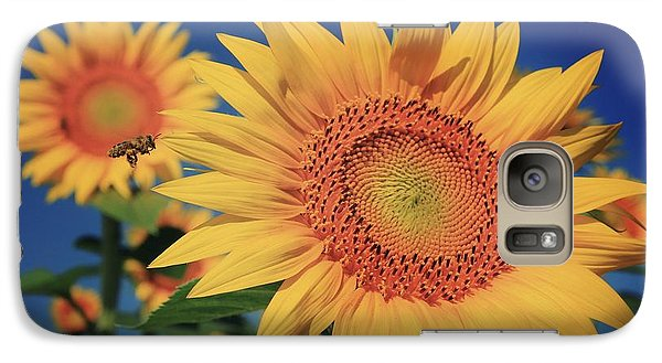 Galaxy Case featuring the photograph Heading For Gold by Chris Berry