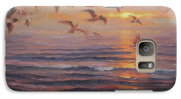 Seagull Galaxy S7 Case - Heading Home by Steve Henderson
