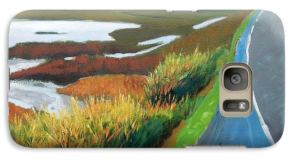 Galaxy Case featuring the painting Heading North by Gary Coleman