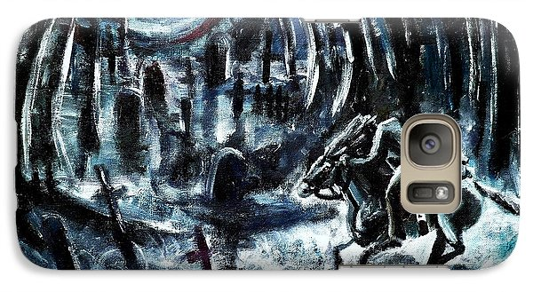 Galaxy Case featuring the painting Headless In The Hollow by Shana Rowe Jackson