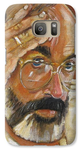 Galaxy Case featuring the painting Headshot by Gary Coleman