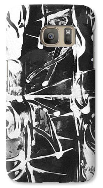Galaxy Case featuring the painting Healer by Carol Rashawnna Williams