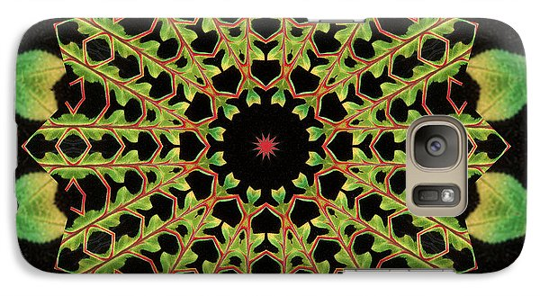 Galaxy Case featuring the photograph Healing Mandala 13 by Bell And Todd