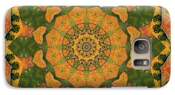 Galaxy Case featuring the photograph Healing Mandala 9 by Bell And Todd