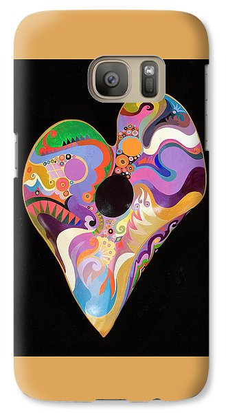 Galaxy Case featuring the painting Heart Bowl by Bob Coonts