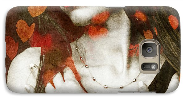 Galaxy Case featuring the digital art Heart Of Gold by Paul Lovering