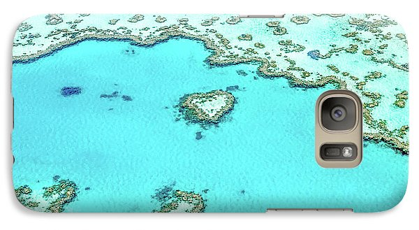 Galaxy Case featuring the photograph Heart Of The Reef by Az Jackson