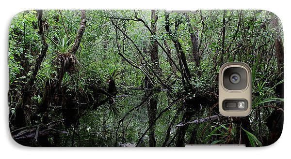 Galaxy Case featuring the photograph Heart Of The Swamp by Barbara Bowen