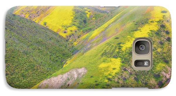 Galaxy Case featuring the photograph Heart Of The Temblor Range by Marc Crumpler