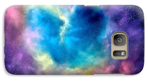 Heart Of The Universe Galaxy S7 Case by Sally Seago