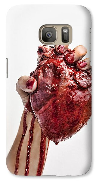 Galaxy Case featuring the photograph Heartbreaker by John Crothers