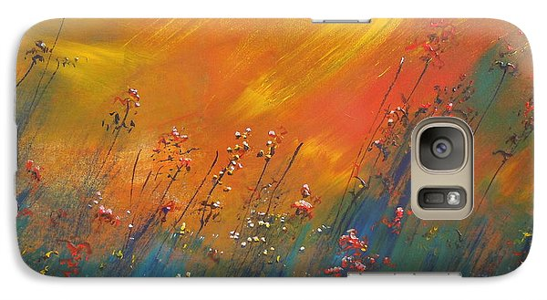 Galaxy Case featuring the painting Heartland  by Dan Whittemore