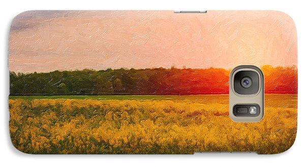 Rural Scenes Galaxy S7 Case - Heartland Glow by Tom Mc Nemar