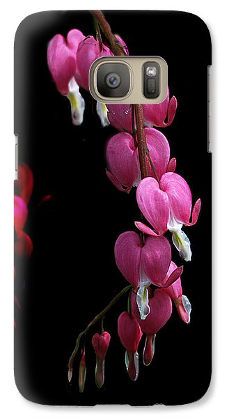 Galaxy Case featuring the photograph Hearts In The Dark by Susan Capuano