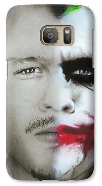 Heath Ledger / Joker Galaxy S7 Case