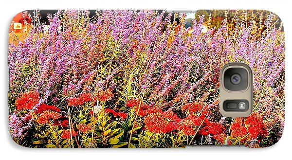 Galaxy Case featuring the photograph Heather And Sedum by Patricia L Davidson