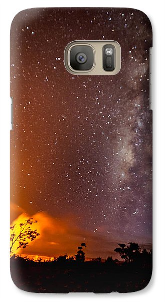 Galaxy Case featuring the photograph Heaven And Hell by Allen Biedrzycki
