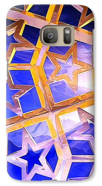 Galaxy Case featuring the digital art Heaven by Andreas Thust