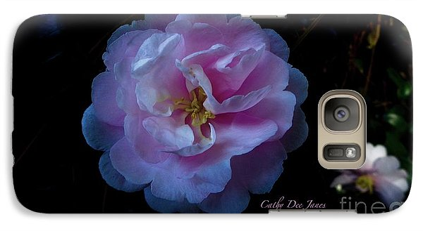 Galaxy Case featuring the photograph Heaven Scent by Cathy Dee Janes