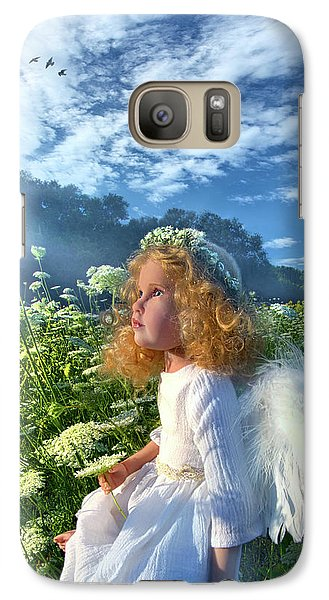 Galaxy Case featuring the photograph Heaven Sent by Phil Koch