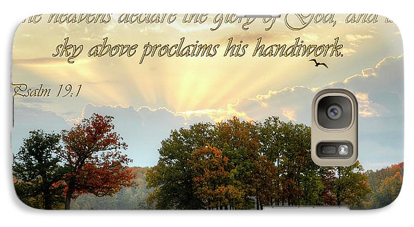 Galaxy Case featuring the photograph Heavenly Morning by Ann Bridges