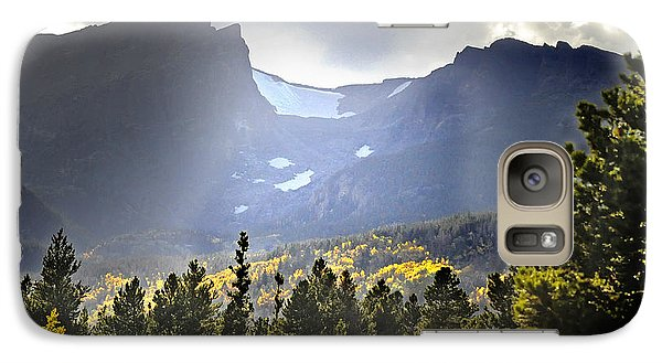 Galaxy Case featuring the photograph Heavenly Rockies  Rmnp by Nava Thompson