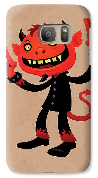 Heavy Metal Devil Galaxy S7 Case