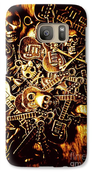 London Tube Galaxy S7 Case - Heavy Metal Mix by Jorgo Photography - Wall Art Gallery