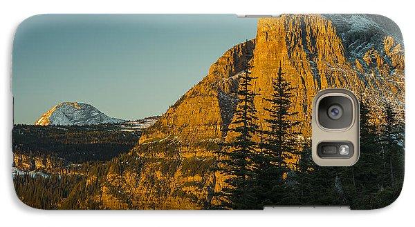 Heavy Runner Mountain Galaxy S7 Case by Gary Lengyel