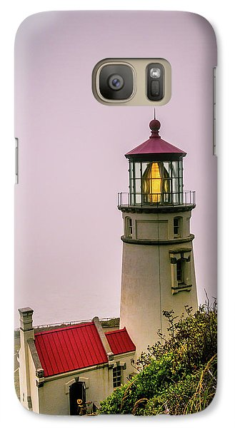 Heceta Head Lighthouse In The Fog Galaxy S7 Case
