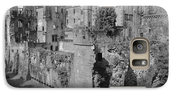Galaxy Case featuring the photograph Heidelberg Castle Behind The Scenes by Corinne Rhode
