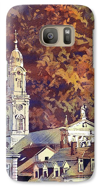 Galaxy Case featuring the painting Heidelberg Evening by Ryan Fox