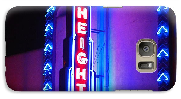 Galaxy Case featuring the photograph Heights Theater by Cheri Randolph