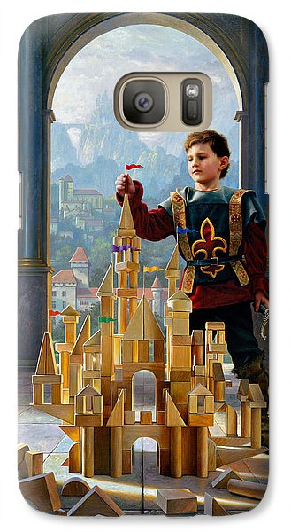 Heir To The Kingdom Galaxy S7 Case by Greg Olsen
