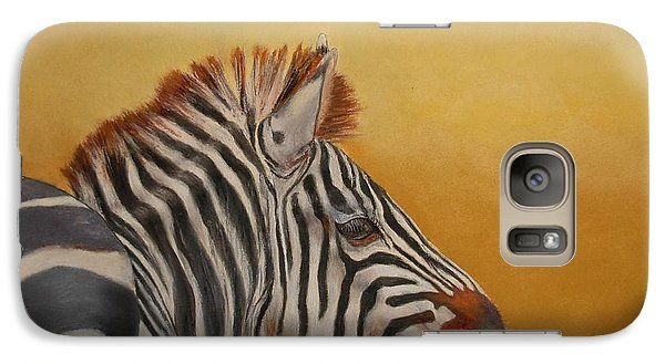 Galaxy Case featuring the painting Hello Africa by Ceci Watson