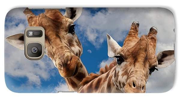 Galaxy Case featuring the photograph Hello by Christine Sponchia