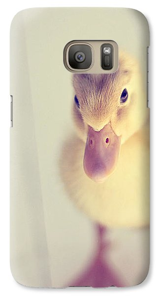 Galaxy Case featuring the photograph Hello Ducky by Amy Tyler