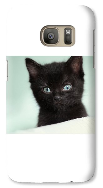 Galaxy Case featuring the photograph Hello Kitty by Amy Tyler