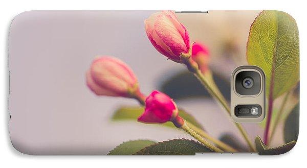 Galaxy Case featuring the photograph Hello Spring by Yvette Van Teeffelen